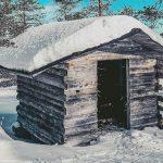 Winter outdoor in Kemijärvi Lapland By Jenna Heikkilä