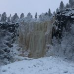 Korouoma frozen waterfall Posio Lapland - Finland By Claudia Martens- Visit Lapland