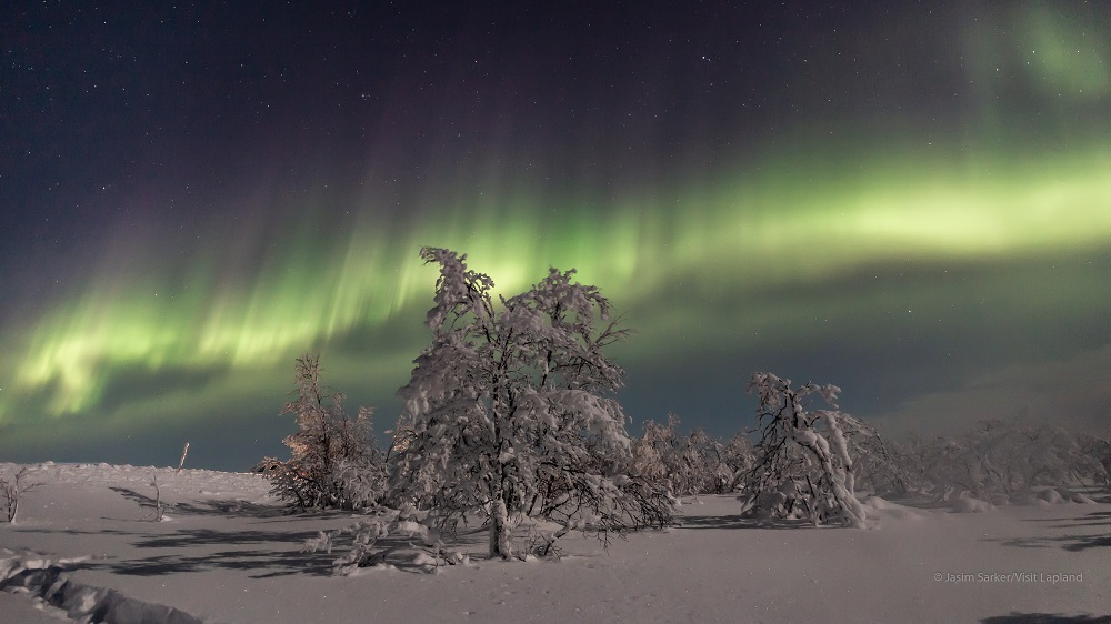 Aurora in Inari- Utsjoki area in Lapland- The northern lights and arctic nights By Jasim Sarker- Visit Lapland