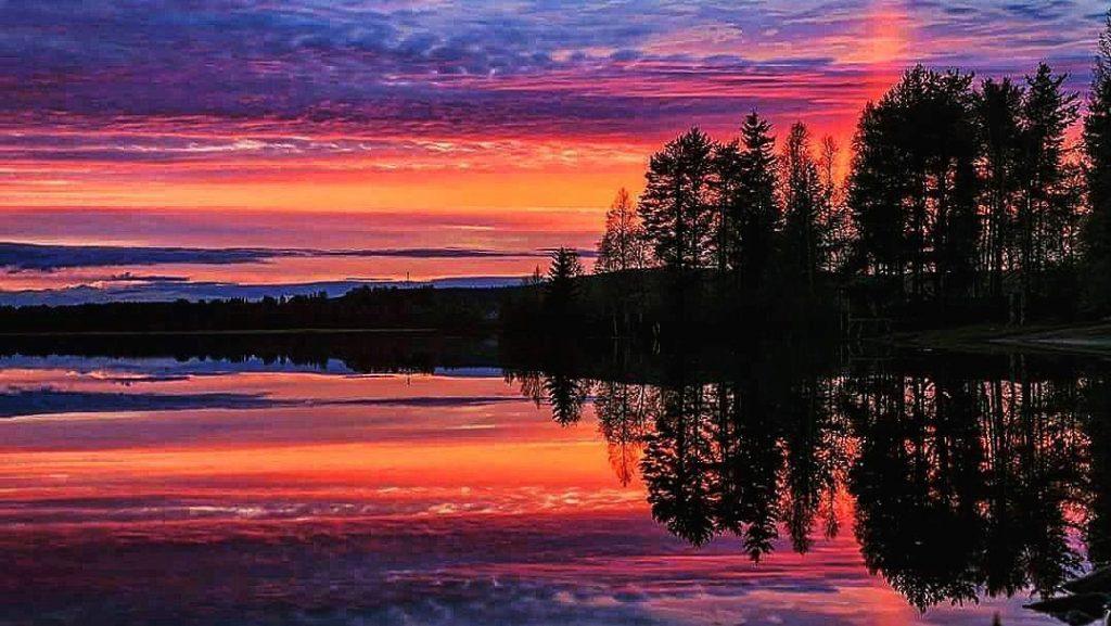 Midnight Sun Lapland