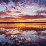 Travel Finland Midnight sun Summer Lapland