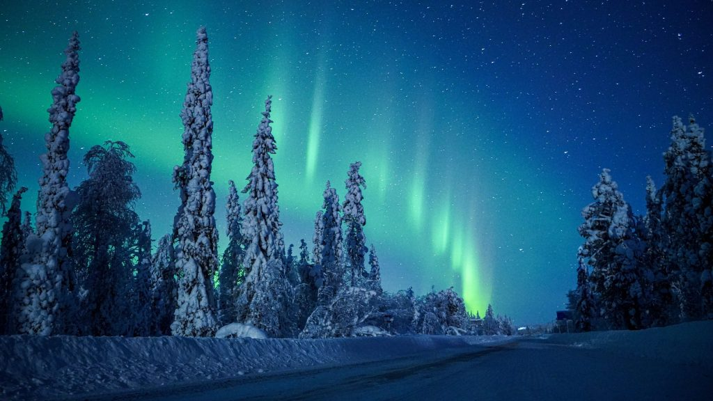 Northern lights - cover pic Visit Lapland Finland